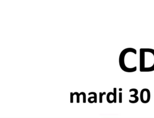 CDEN du mardi 30 mars 2021