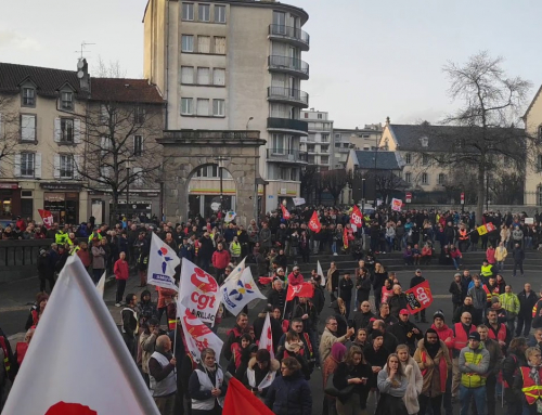 Toutes et tous en grève le 5 octobre – Manifestation à Aurillac, départ 10h30 Place des Carmes